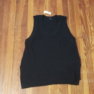 Gap Black Mens Large Vest New With Tags.